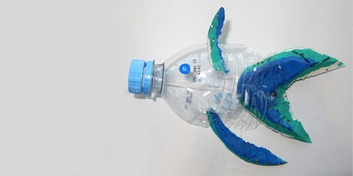 How to make a bottle fish