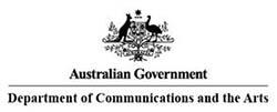 Australian Government Department of Communications and the Arts logo