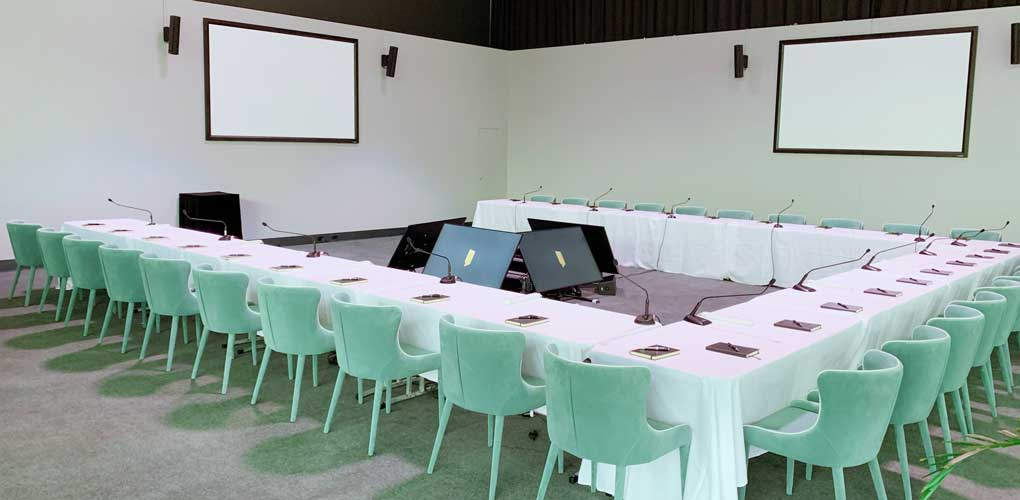 Corporate functions - conference seating
