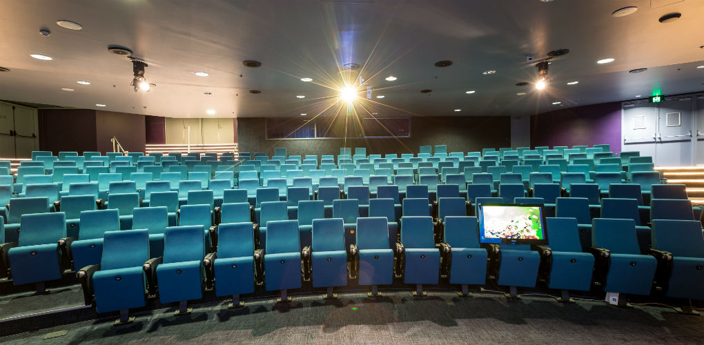 The museum's theatre boasts state-of-the-art presentation equipment and facilities.