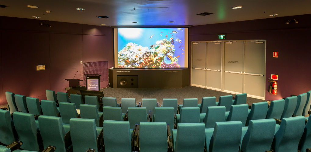 The museum's theatre boasts state-of-the-art presentation equipment and facilities