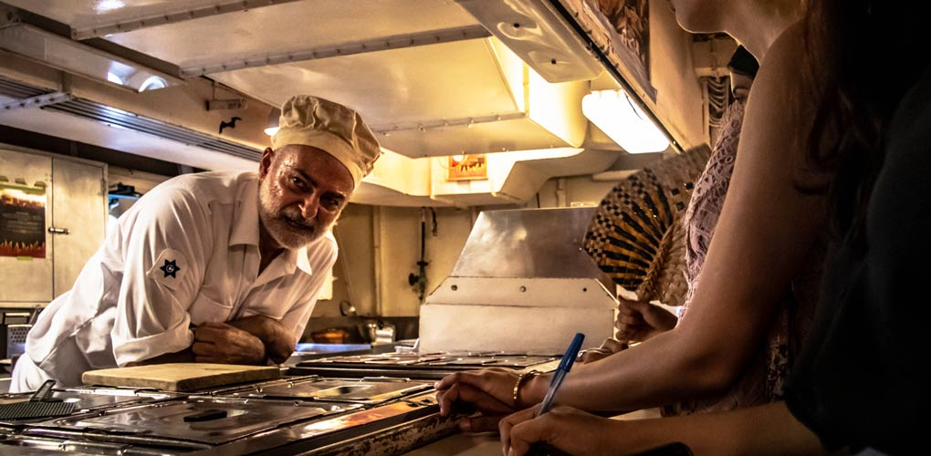 Murder Mystery At Sea - did the cook do it? Image: Kate Pentecost