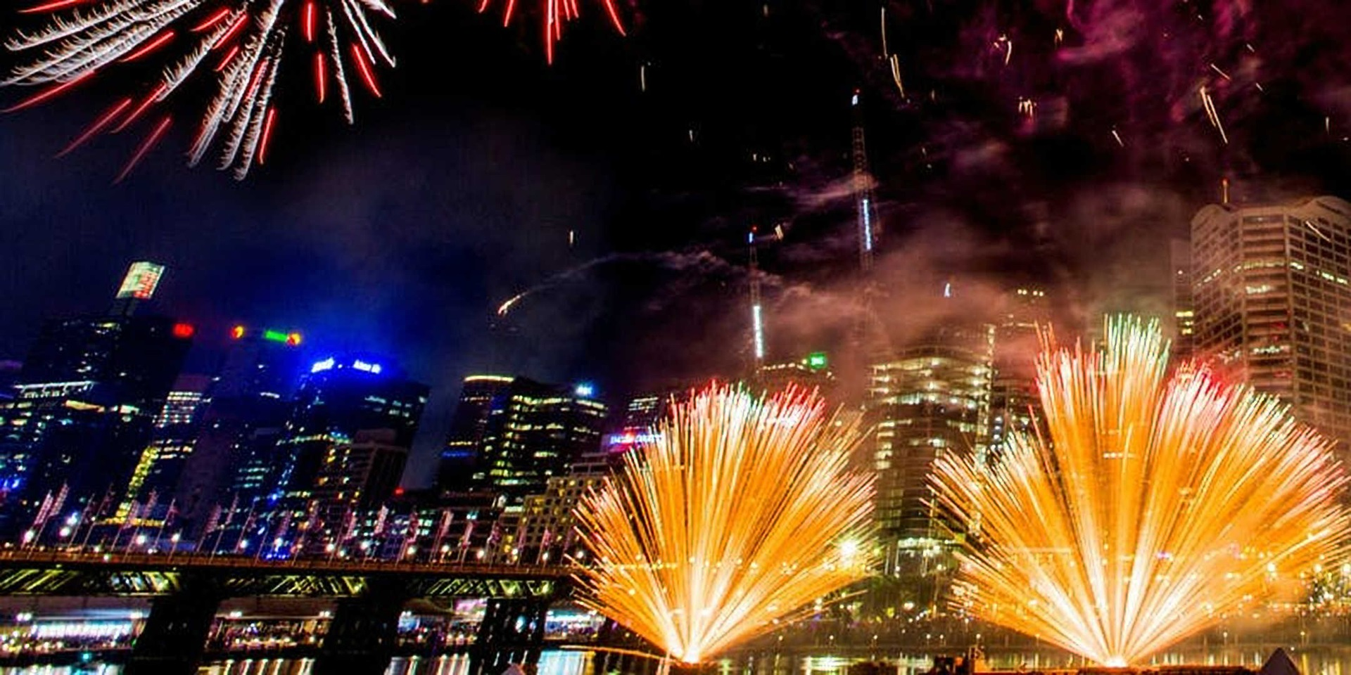 Fireworks - New Year's Eve festival, Darling Harbour