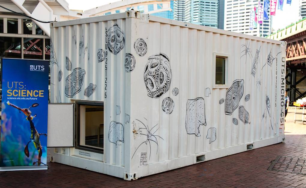 UTS Micro-CSI on site at the Australian National Maritime Museum. Image by Andrew Frolows