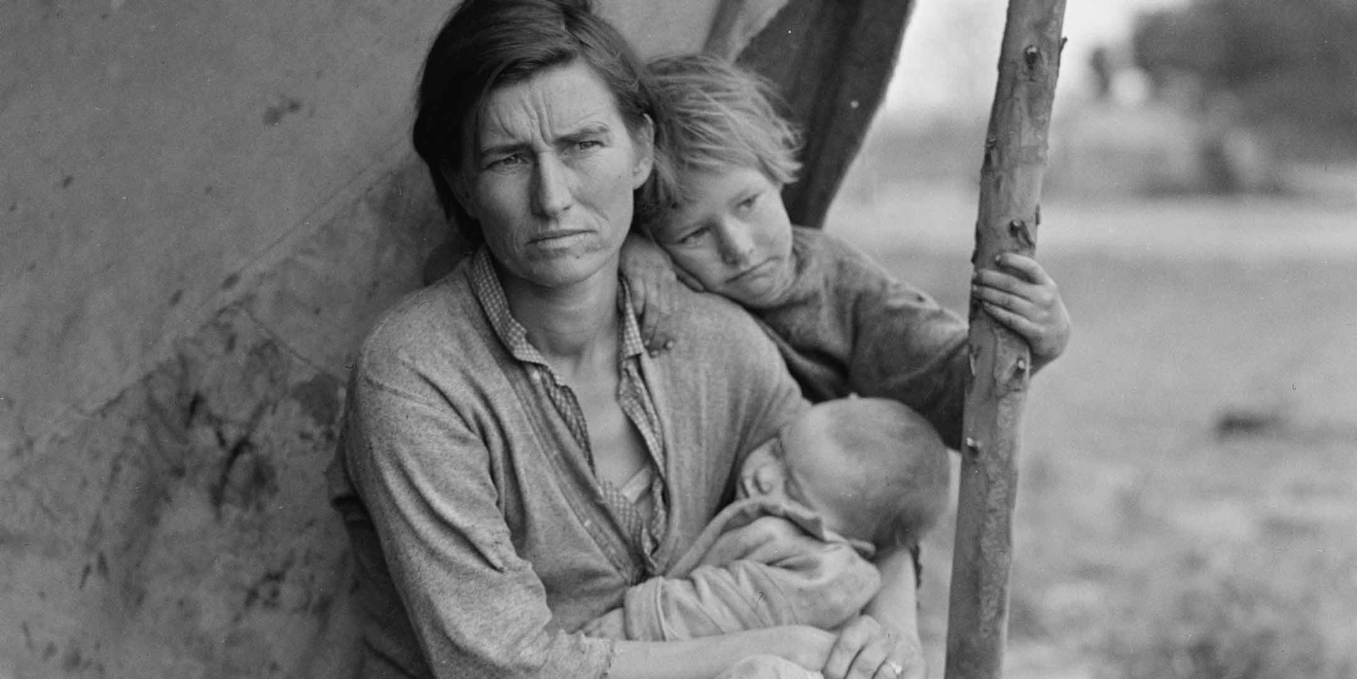 Migrant agricultural worker's family, Nipomo California. Photo by Dorothea Lange. February 1936. Courtesy Farm Security Administration–Office of War Information Photograph Collection, Library of Congress.