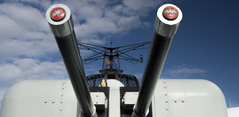 HMAS Vampire, Australia's largest museum vessel, is the last of the country's big gun ships.